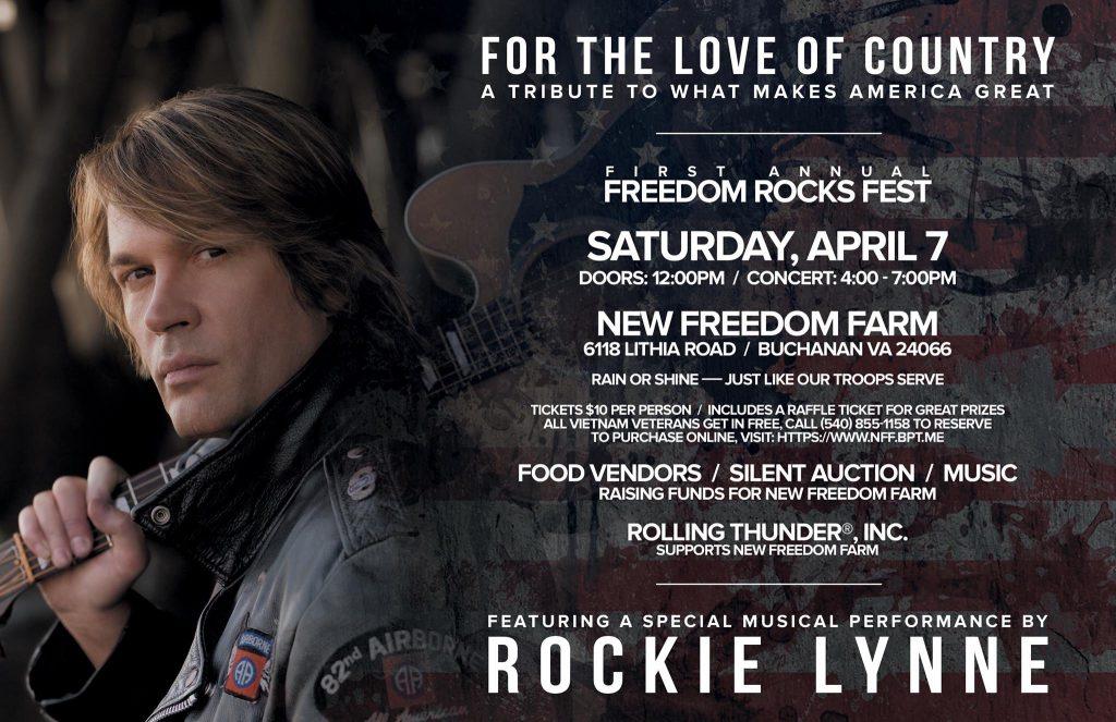 Freedom Rocks Fest @ New Freedom Farm | Buchanan | Virginia | United States